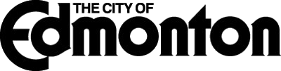 City of Edmonton Logo TRANSPARENT BLACK