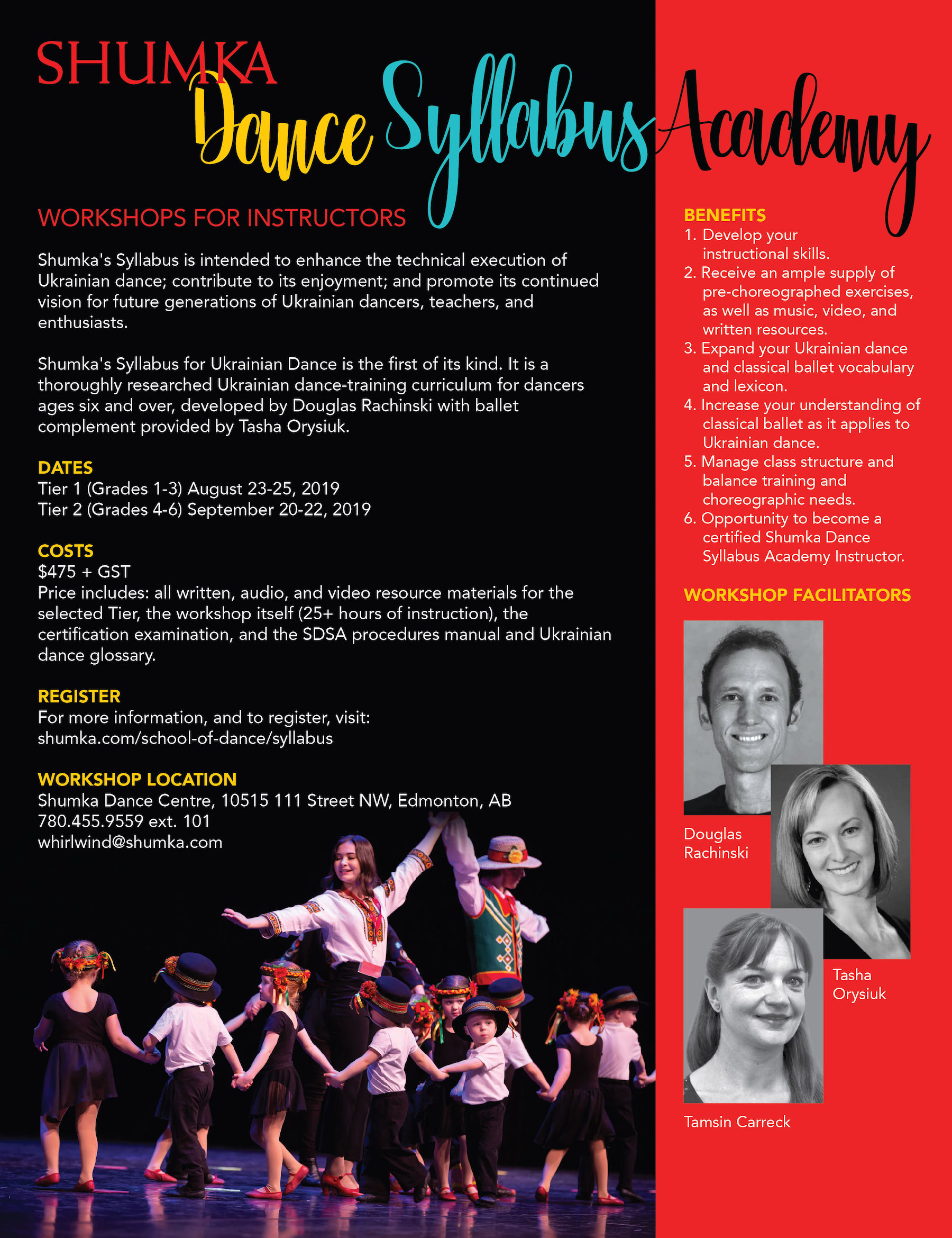 Shumka's Syllabus for Ukrainian Dance – Shumka | Canada's Ukrainian